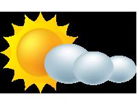 Mostly Sunny Weather Symbol